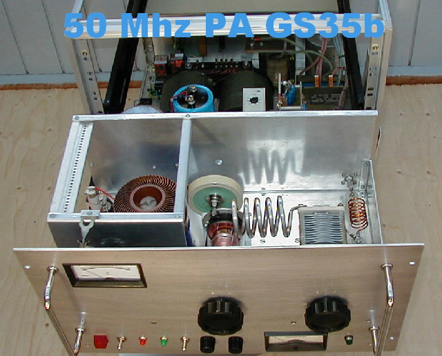 50 MHz GS35b Power Amplifiers, OZ1DPR